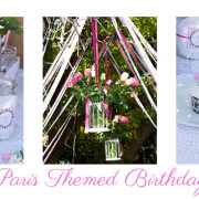 A Paris Themed Birthday Party by Practicingnormal.com