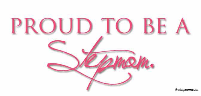 Celebrating Stepmom Day at Practicingnormal.com