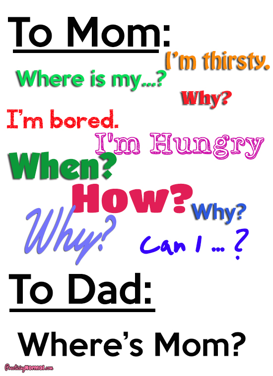Ask Mom Dad Questions