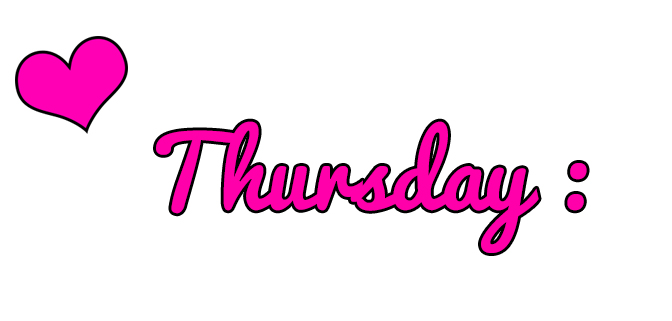 Thursday The Ultimate Link Party List