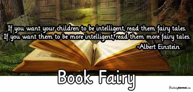 Header - Book fairy from Practicingnormal.com